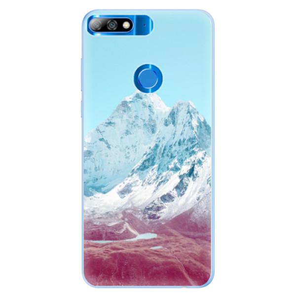 Silikonové pouzdro iSaprio - Highest Mountains 01 - Huawei Y7 Prime 2018
