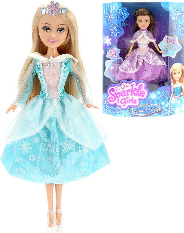 Sparkle Girlz Panenka zimní princezna set s doplňky různé druhy