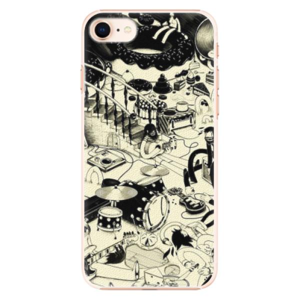 Plastové pouzdro iSaprio - Underground - iPhone 8