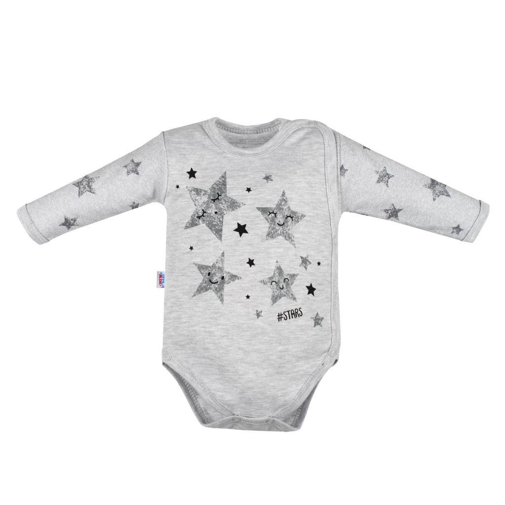 Kojenecké body s bočním zapínáním New Baby Stars