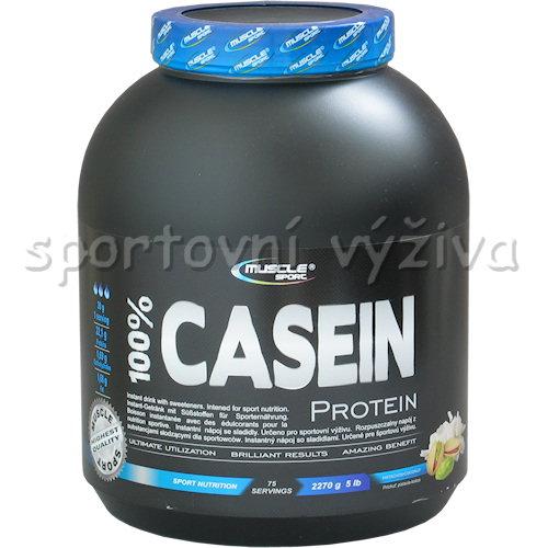 100% Casein - 2270g-vanilka
