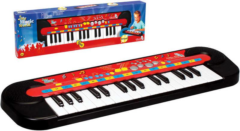 Pianko dětské 32 kláves keyboard na baterie