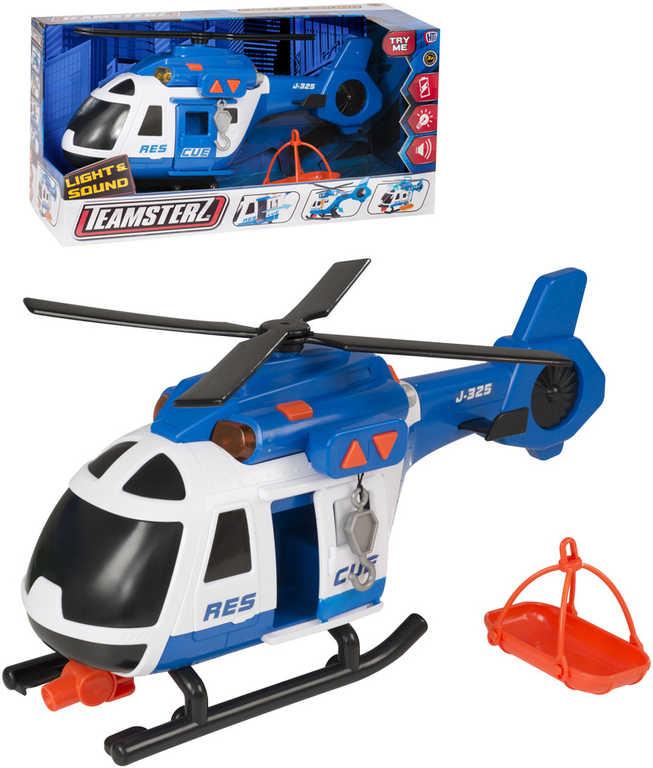 Teamsterz helikoptéra Záchranáři 38cm funkční set s doplňky na baterie