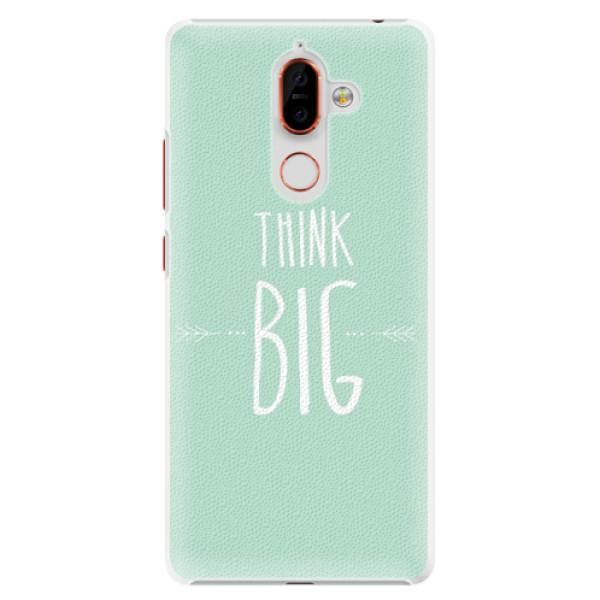 Plastové pouzdro iSaprio - Think Big - Nokia 7 Plus