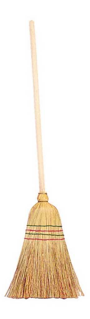 Small Foot Dětské koště ze slámy
