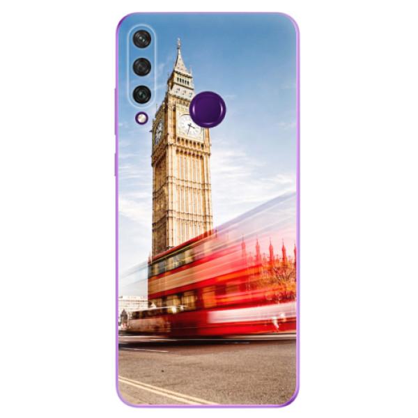 Odolné silikonové pouzdro iSaprio - London 01 - Huawei Y6p