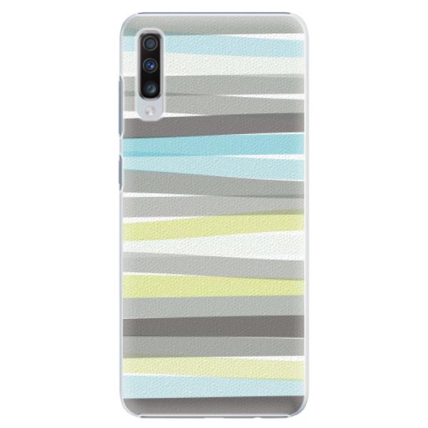Plastové pouzdro iSaprio - Stripes - Samsung Galaxy A70