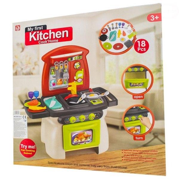 Euro Baby Dětská kuchyňka s příslušenstvím - My first Kitchen