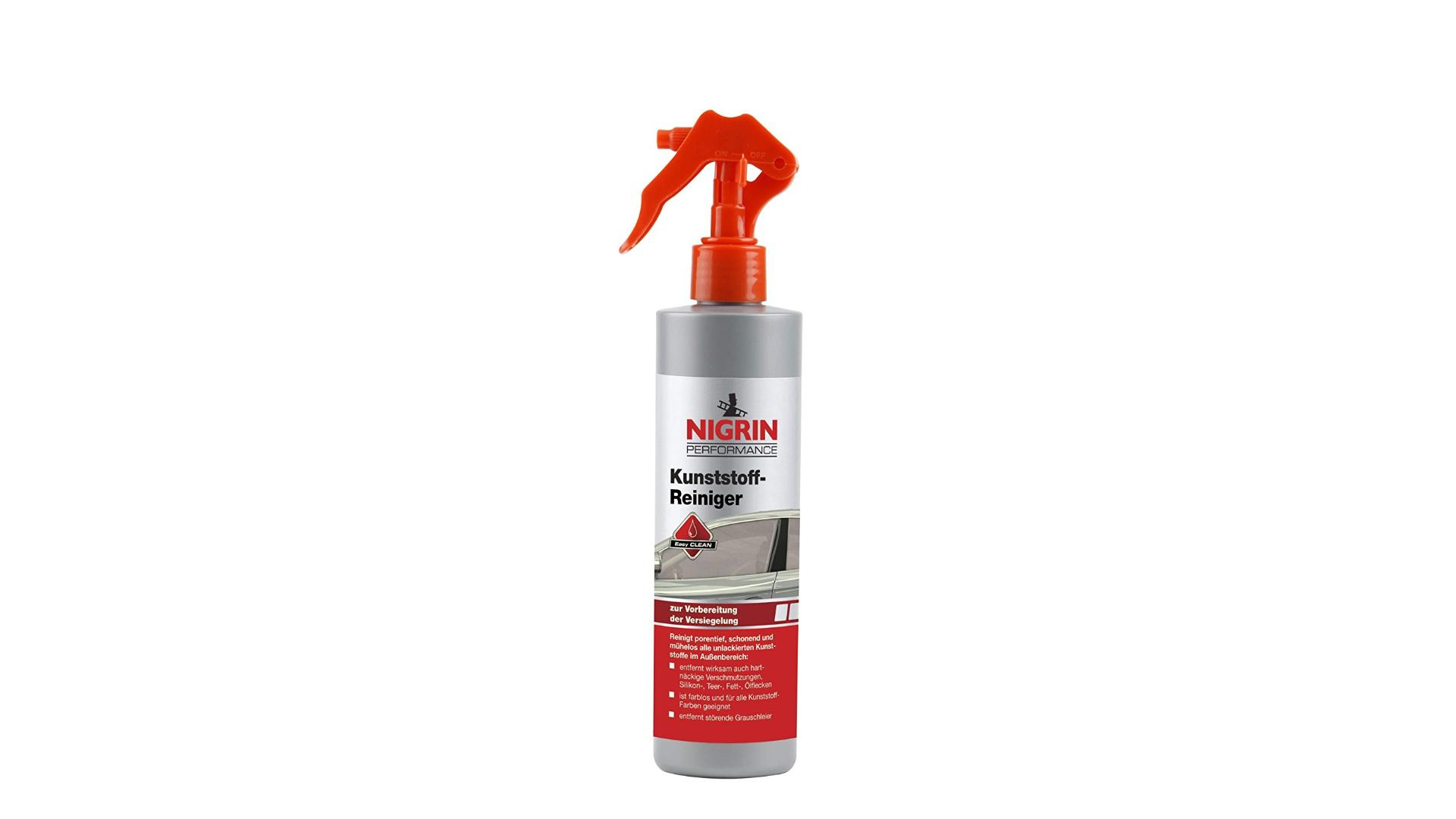 NIGRIN 300ml cleaning and protection formula for plastic parts 300ml