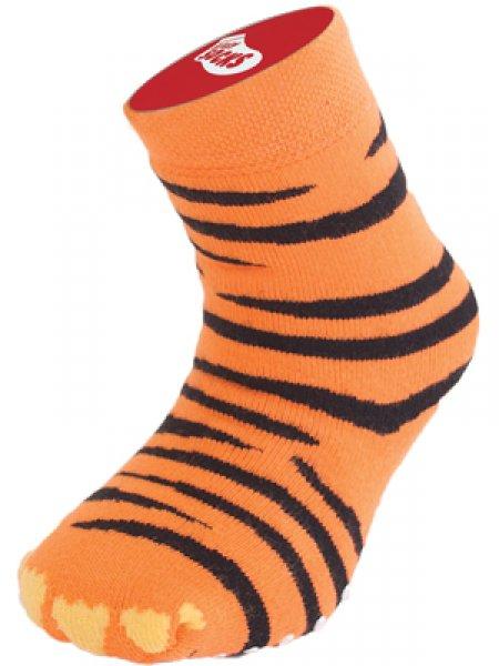 Dětské bláznivé ponožky - tygr