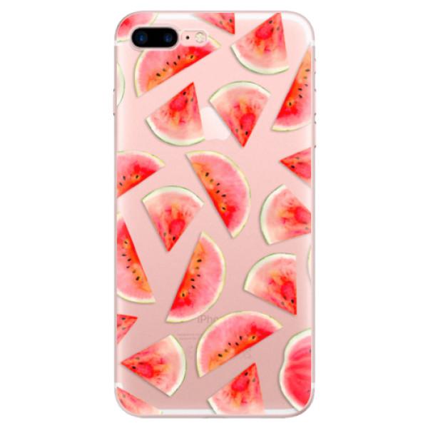 Odolné silikonové pouzdro iSaprio - Melon Pattern 02 - iPhone 7 Plus