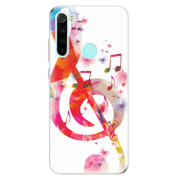 Odolné silikonové pouzdro iSaprio - Love Music - Xiaomi Redmi Note 8
