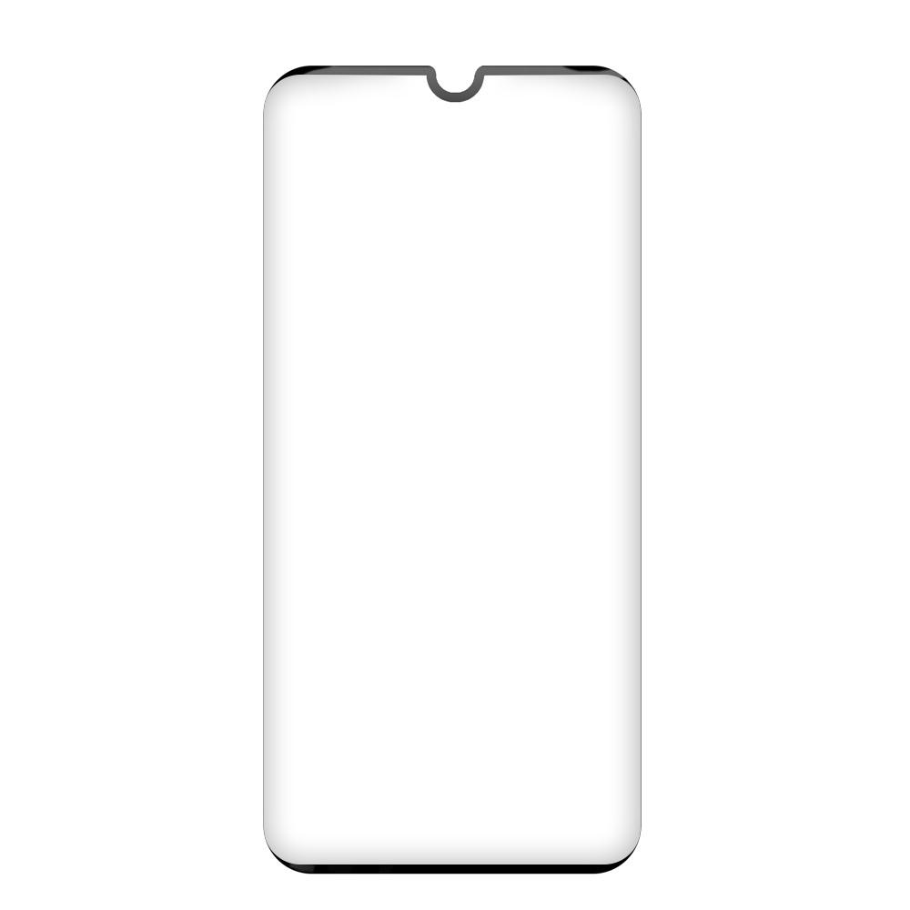 Tvrzené sklo iSaprio 9D BLACK pro Xiaomi Mi Note 10 Lite
