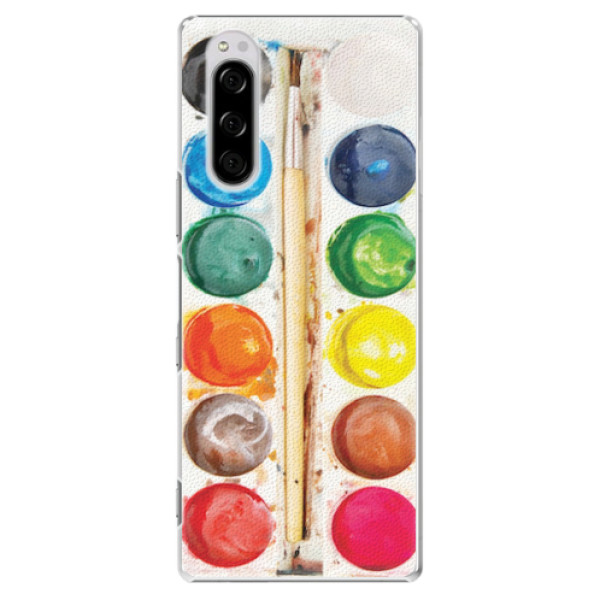 Plastové pouzdro iSaprio - Watercolors - Sony Xperia 5