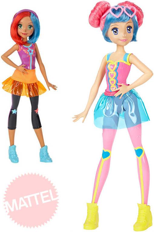 MATTEL BRB Panenka Barbie ve světě her spoluhráčky 2 druhy