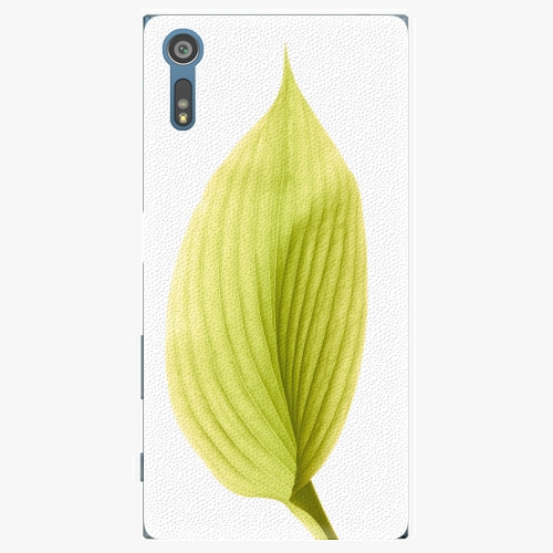 Plastový kryt iSaprio - Green Leaf - Sony Xperia XZ