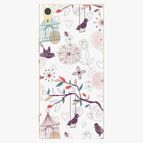 Plastový kryt iSaprio - Birds - Sony Xperia XA1 Ultra