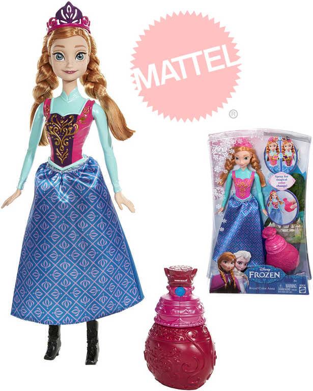 MATTEL Frozen (Ledové Království) Magická proměna Anna