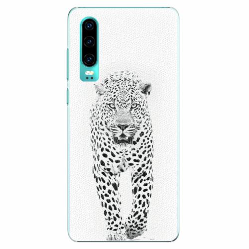 Plastový kryt iSaprio - White Jaguar - Huawei P30