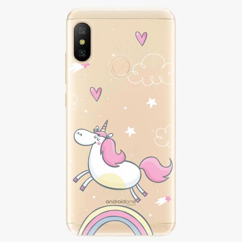 Silikonové pouzdro iSaprio - Unicorn 01 - Xiaomi Mi A2 Lite