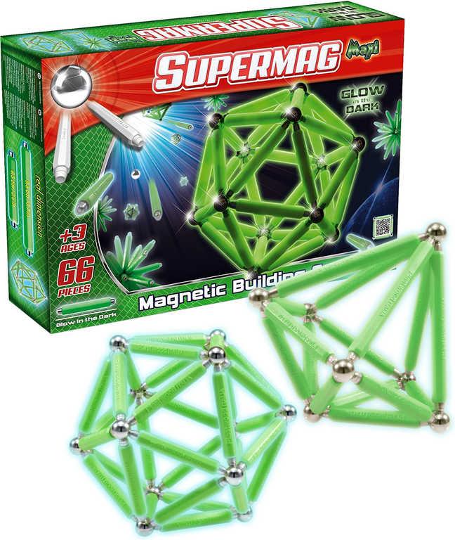 SUPERMAG Supermaxi Fluo Gloe Fosfor 66 dílků