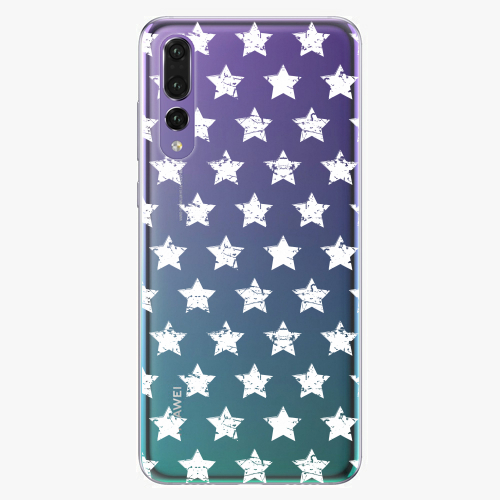 Plastový kryt iSaprio - Stars Pattern - white - Huawei P20 Pro
