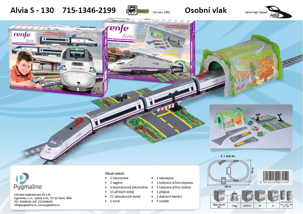 ALVIA S-130 - osobní vlak