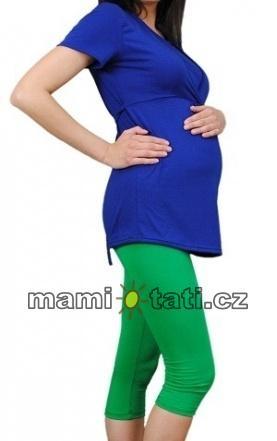 be-maamaa-tehotenske-barevne-leginy-3-4-delky-zelena-k19-m-38
