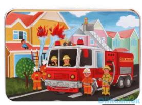 Dětské puzzle - hasiči
