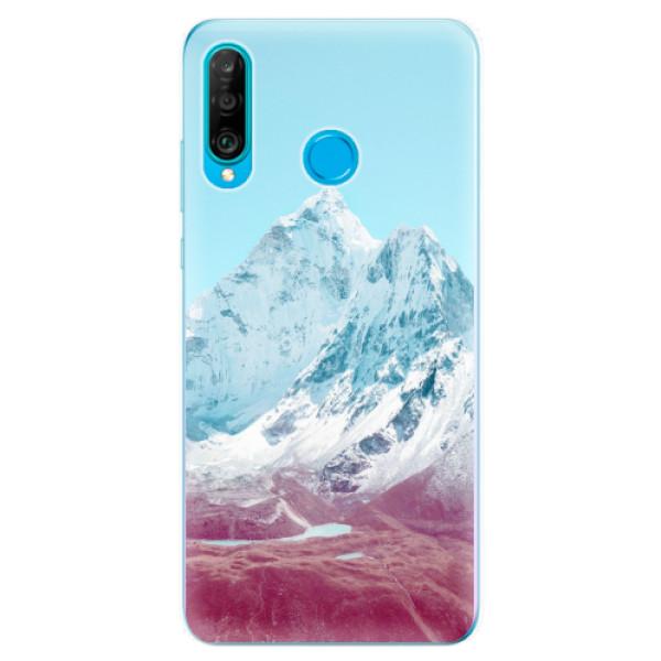 Odolné silikonové pouzdro iSaprio - Highest Mountains 01 - Huawei P30 Lite