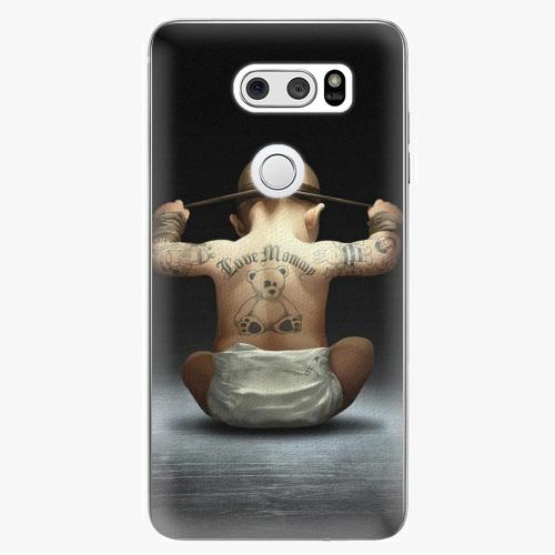 Plastový kryt iSaprio - Crazy Baby - LG V30
