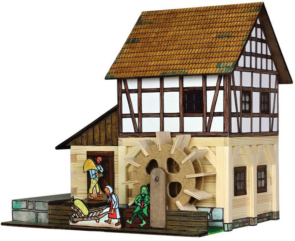 WALACHIA Hrázděný vodní mlýn 33W39 dřevěná stavebnice