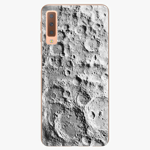 Plastový kryt iSaprio - Moon Surface - Samsung Galaxy A7 (2018)