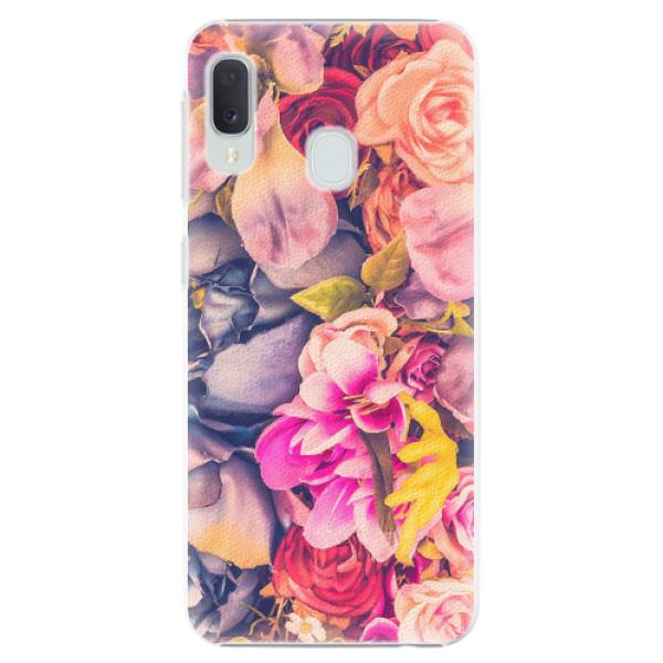 Plastové pouzdro iSaprio - Beauty Flowers - Samsung Galaxy A20e
