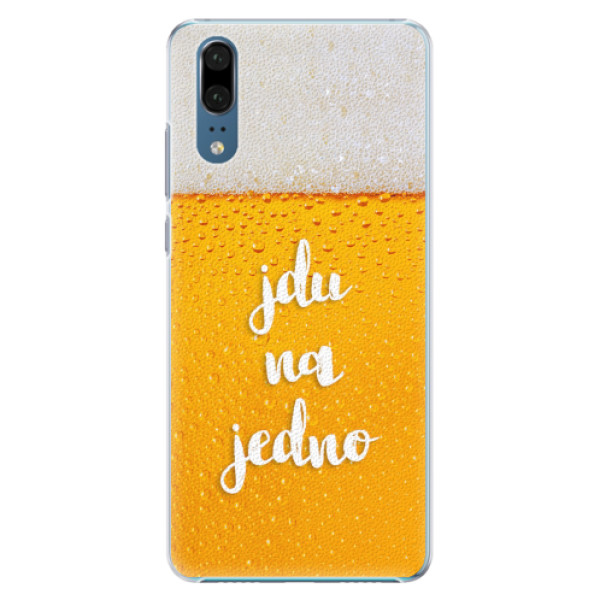 Plastové pouzdro iSaprio - Jdu na jedno - Huawei P20