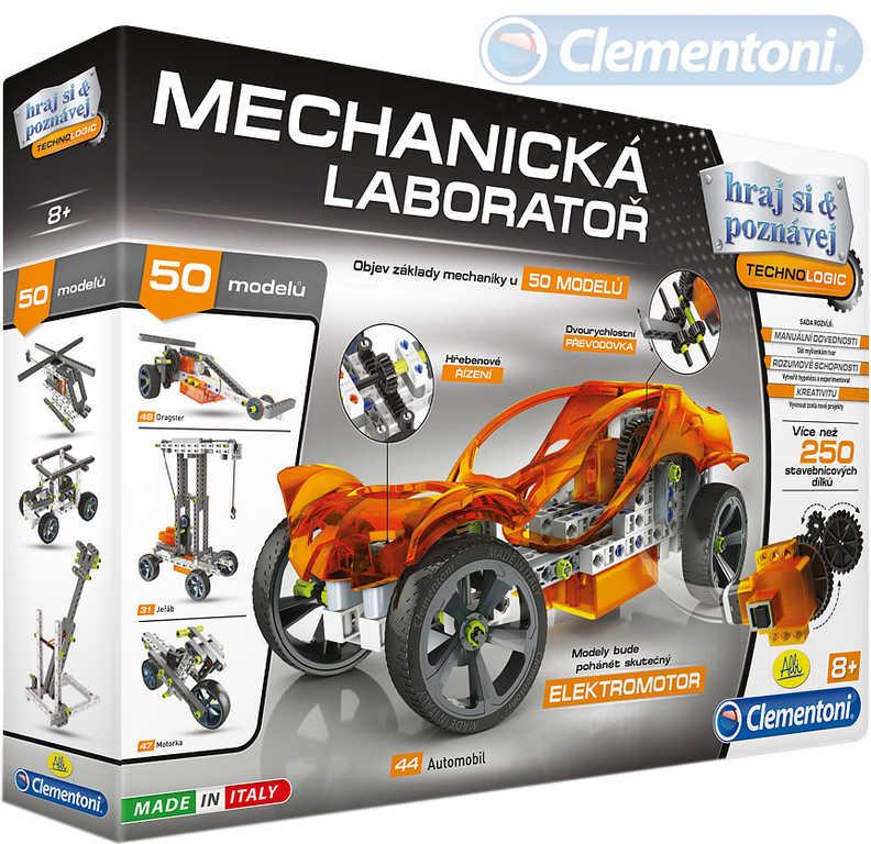 CLEMENTONI Mechanická laboratoř experimentální naučná sada