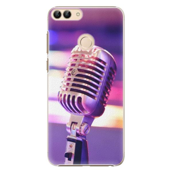 Plastové pouzdro iSaprio - Vintage Microphone - Huawei P Smart