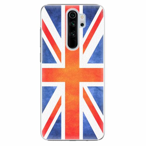 Plastový kryt iSaprio - UK Flag - Xiaomi Redmi Note 8 Pro