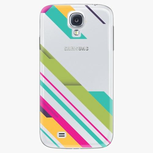 Plastový kryt iSaprio - Color Stripes 03 - Samsung Galaxy S4