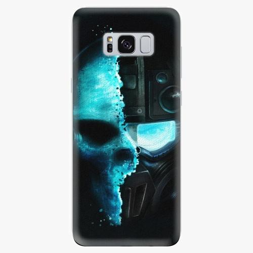Silikonové pouzdro iSaprio - Roboskull - Samsung Galaxy S8