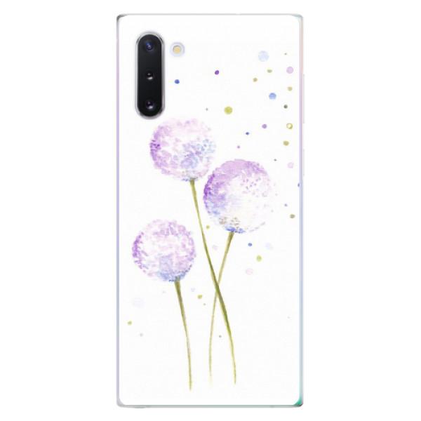 Odolné silikonové pouzdro iSaprio - Dandelion - Samsung Galaxy Note 10