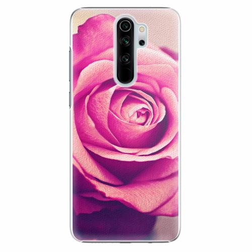 Plastový kryt iSaprio - Pink Rose - Xiaomi Redmi Note 8 Pro