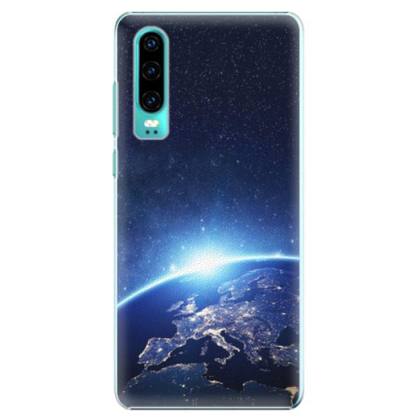 Plastové pouzdro iSaprio - Earth at Night - Huawei P30