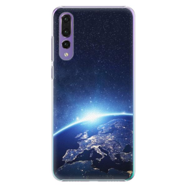 Plastové pouzdro iSaprio - Earth at Night - Huawei P20 Pro