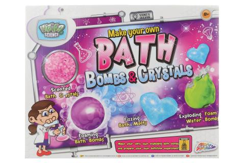 Výroba bomb do vany