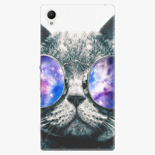 Plastový kryt iSaprio - Galaxy Cat - Sony Xperia Z1 Compact