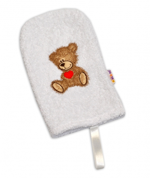 Žínka froté Baby Nellys ® Sweet dreams by TEDDY - bílá