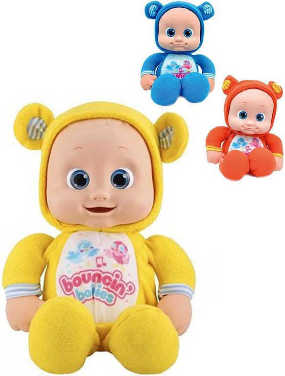 Baby usínáček moje první mimiminko 33cm panenka zpívající na baterie Zvuk