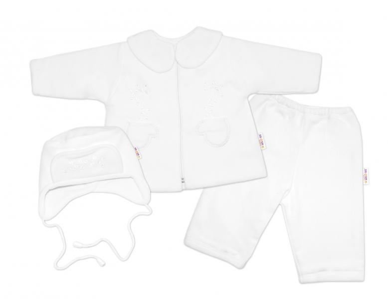 kabatek-cepicka-a-kalhoty-baby-nellys-bila-74-6-9m