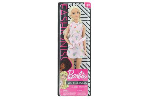 Barbie Modelka 119 - růžové FXL52